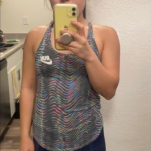 Nike Run Colorful tank top DriFit